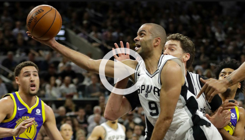 Play button for video segment on Tony Parker story